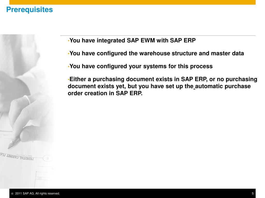 Sap ewm configuration