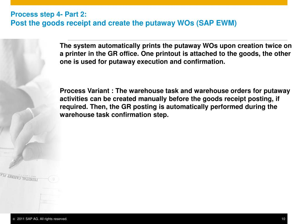 PPT - Inbound Process with no Packing Information from Vendor