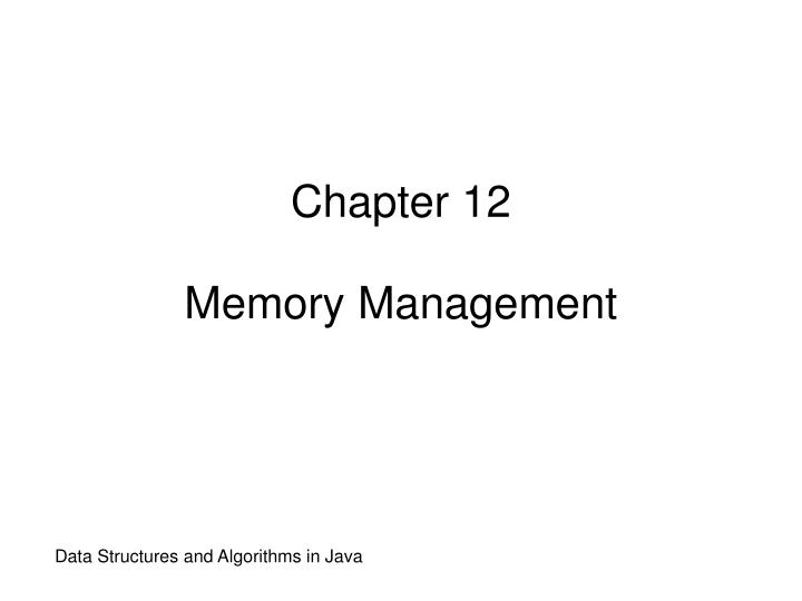chapter 12 memory management n.