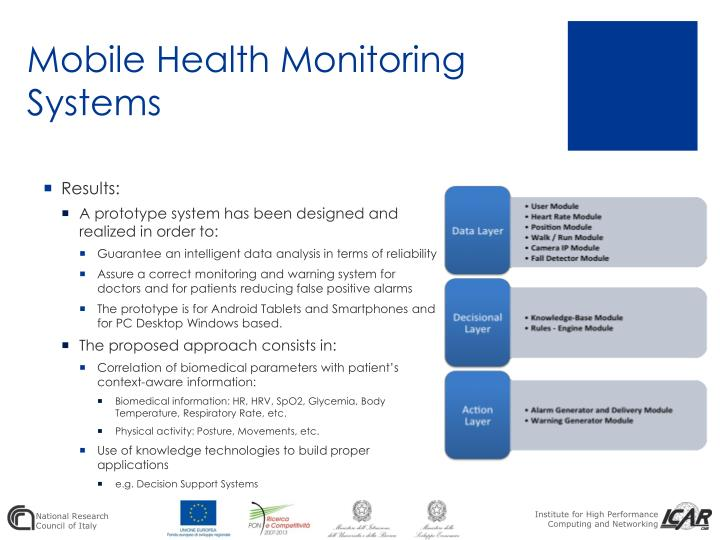 Mobile Health Monitoring Systems