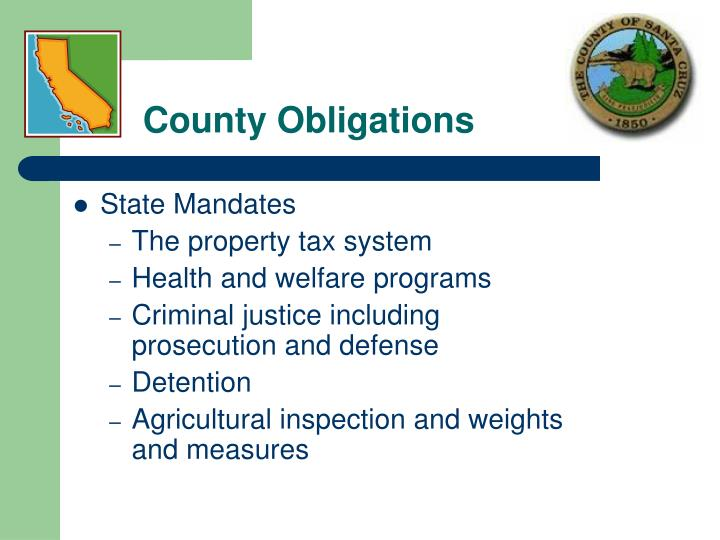 County Obligations