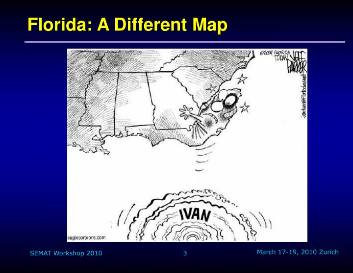 Florida a different map