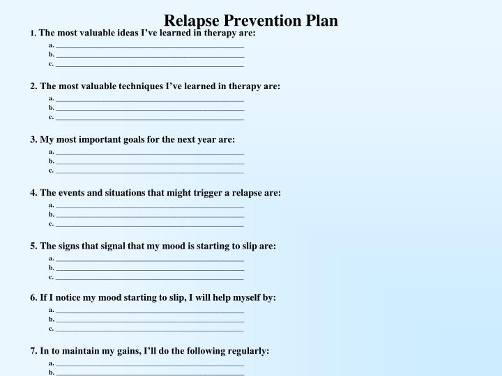 rehab business plan