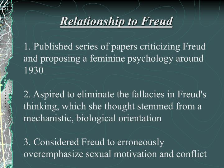 freud femininity essay Freud essay - find out all you need to know about custom writing quick and reliable services from industry leading agency if you are striving to find out how to compose a superb essay, you have to study this.