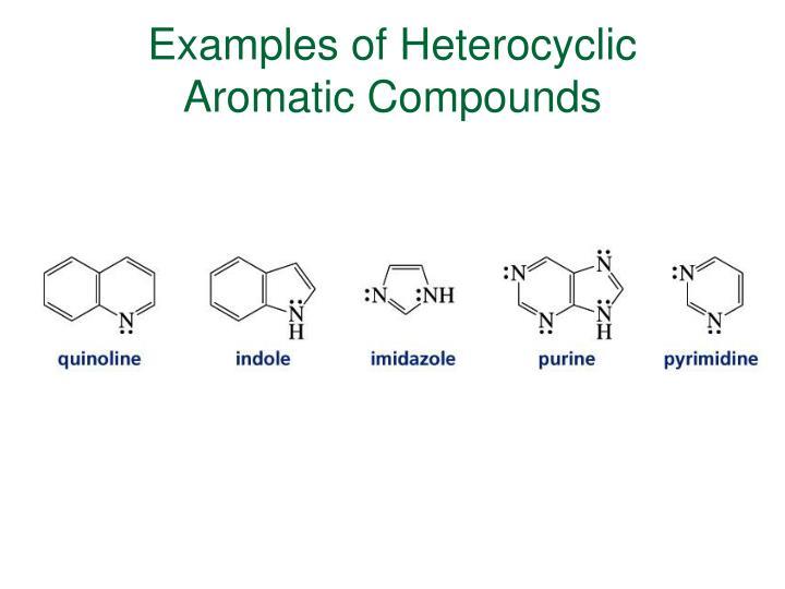 Examples of Heterocyclic