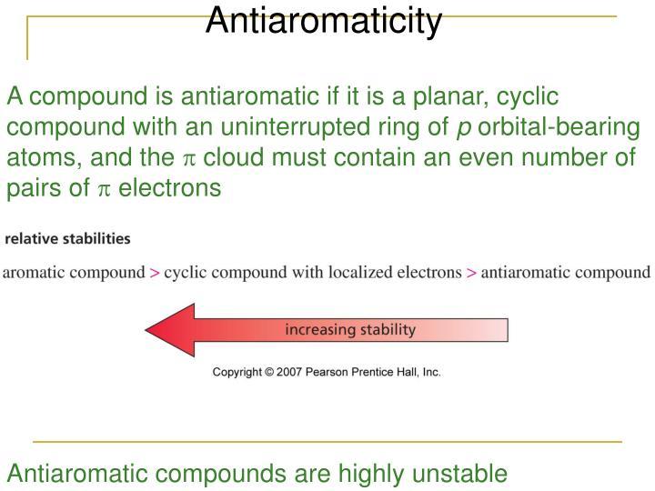 Antiaromaticity