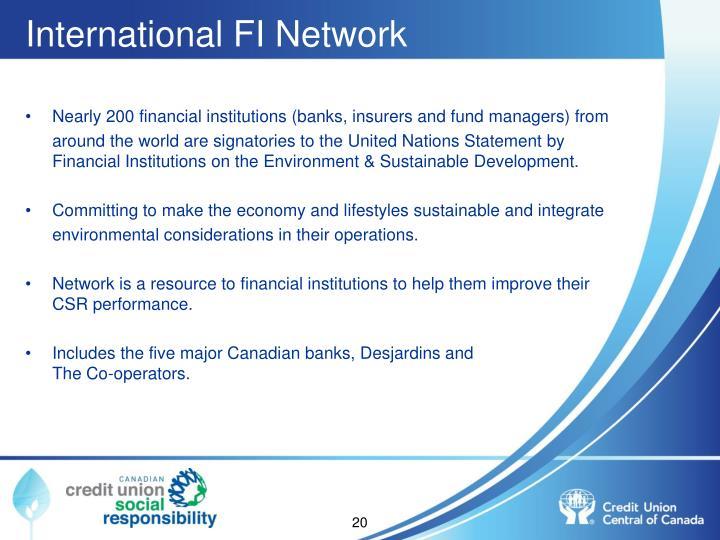 International FI Network