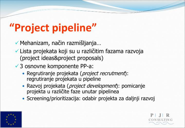 """""""Project pipeline"""""""
