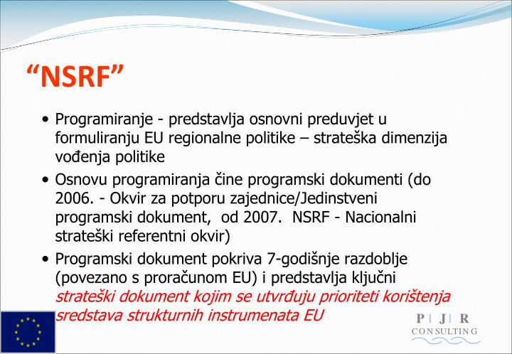 """""""NSRF"""""""