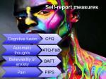 self report m easures