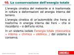 10 la conservazione dell energia totale1