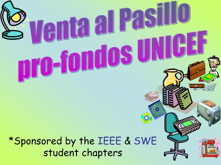 Sponsored by the ieee swe student chapters