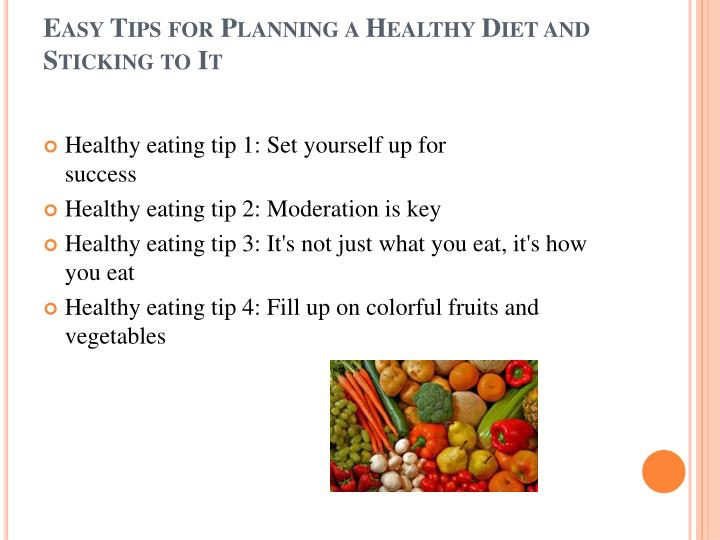 moderation is the key to healthy living