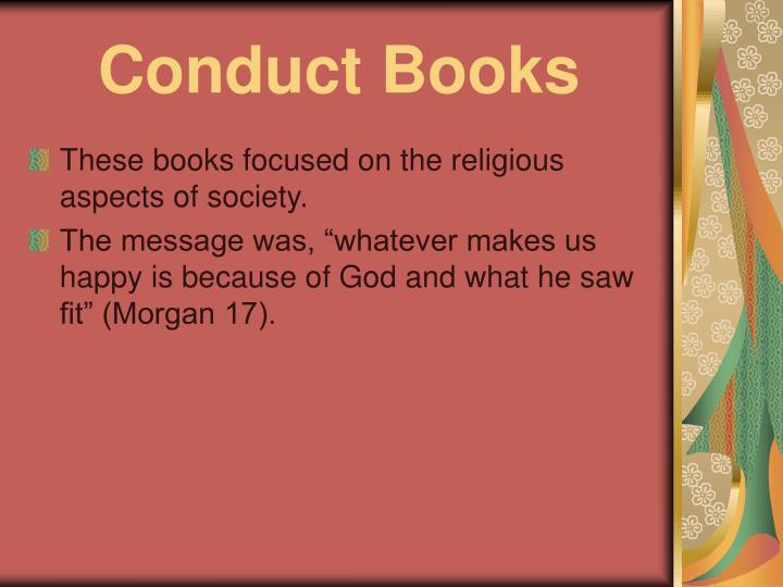 conduct books