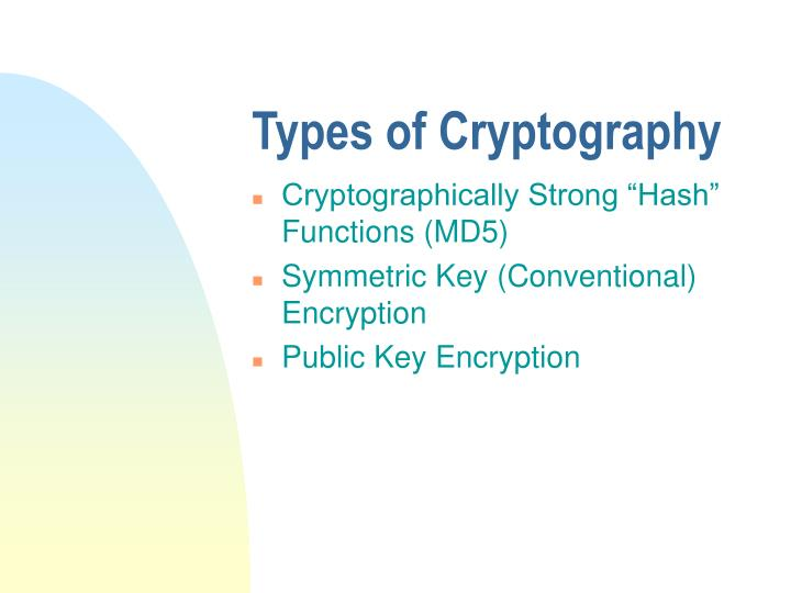 conventional cryptography essay Cryptography essay example prologue: cryptography is an excellent art/science of protecting data from unwanted intruders by transforming the data to an unreadable format which can be brought back to the original form only by those who are authenticated to do so.