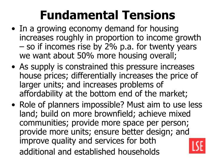 Fundamental Tensions