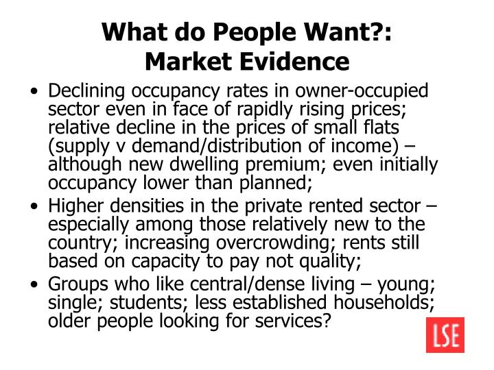 What do People Want?:
