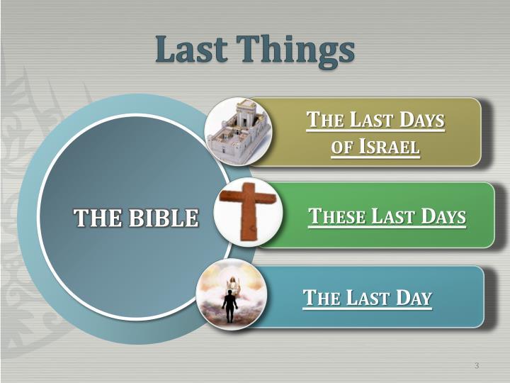Last things1