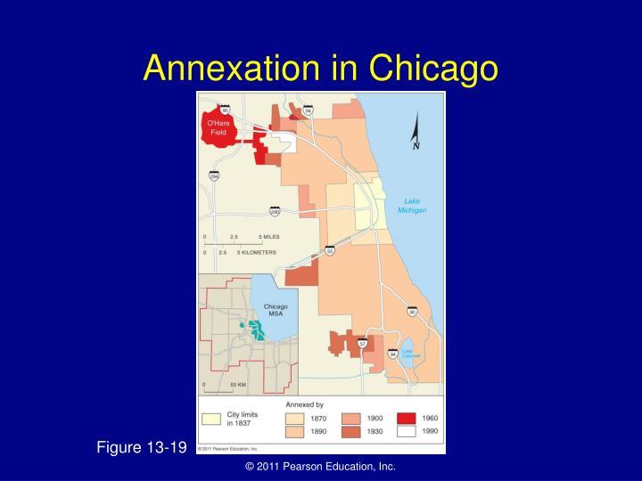 Annexation in Chicago