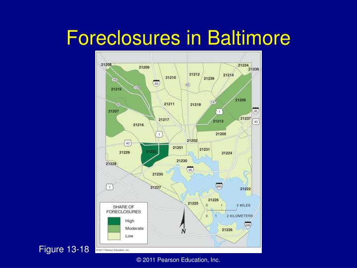 Foreclosures in Baltimore