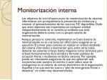 monitorizaci n interna