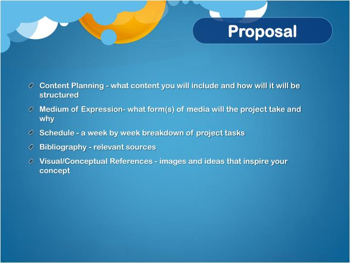 Content Planning - what content you will include and how will it will be structured