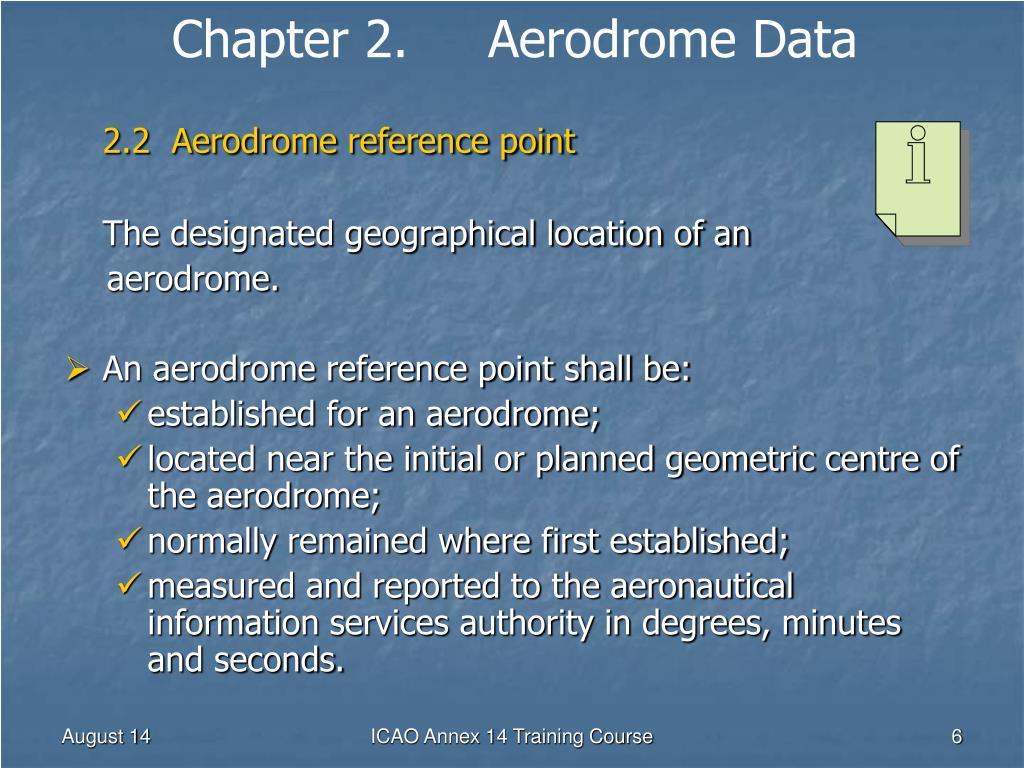 aerodrome data powerpoint presentation - HD1024×768