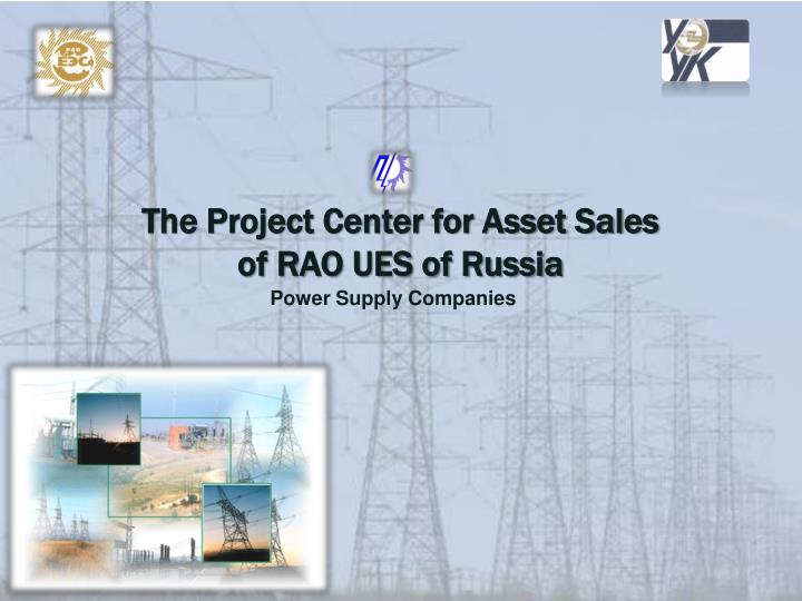 The Project Center for Asset Sales