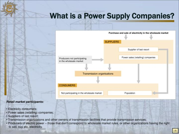 What is a Power Supply Companies?