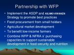 partnership with wfp1