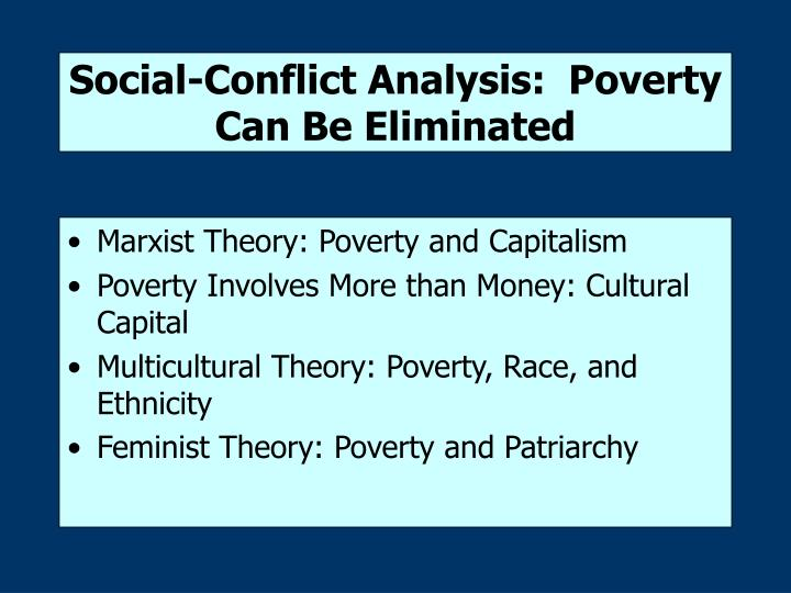 marxist theory on poverty in australia Cultural marxism generally refers to one of two things: first — extremely rarely — cultural marxism refers to an obscure critique of popular culture by the.