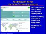 food security portal http www foodsecurityportal org