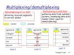 multiplexing demultiplexing