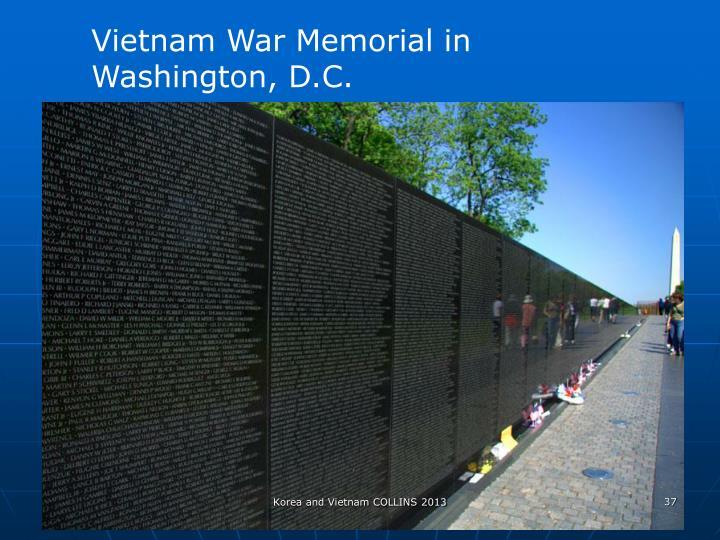 Vietnam War Memorial in Washington, D.C.