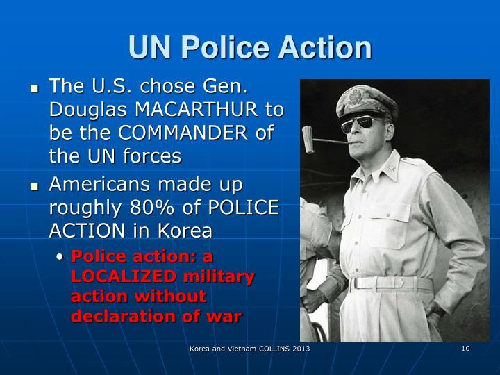UN Police Action