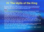 iv the idylls of the king