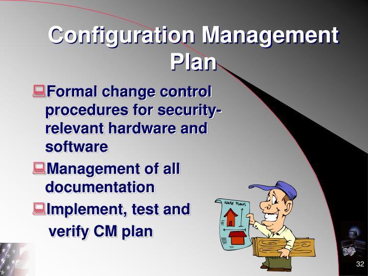 Configuration Management Plan