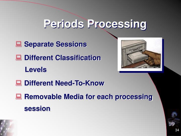 Periods Processing