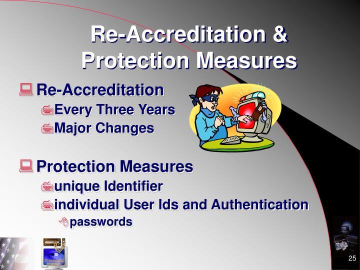 Re-Accreditation &
