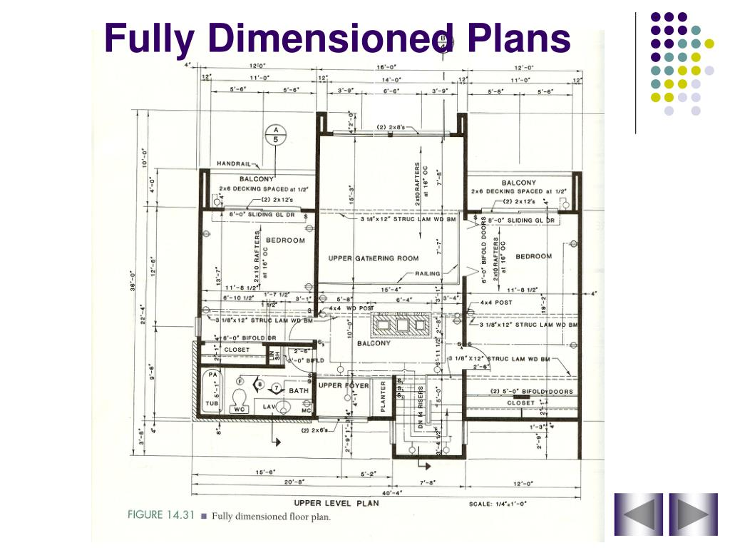 Ppt Dimensioning Floor Plans Powerpoint Presentation Free Download Id 3014447