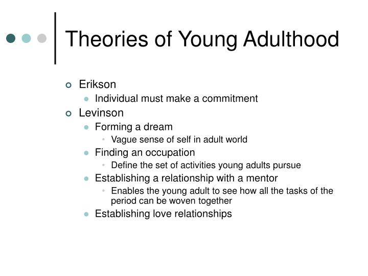 Theories of Young Adulthood