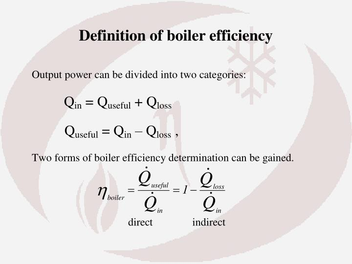 PPT - Boiler efficiency PowerPoint Presentation - ID:3014559