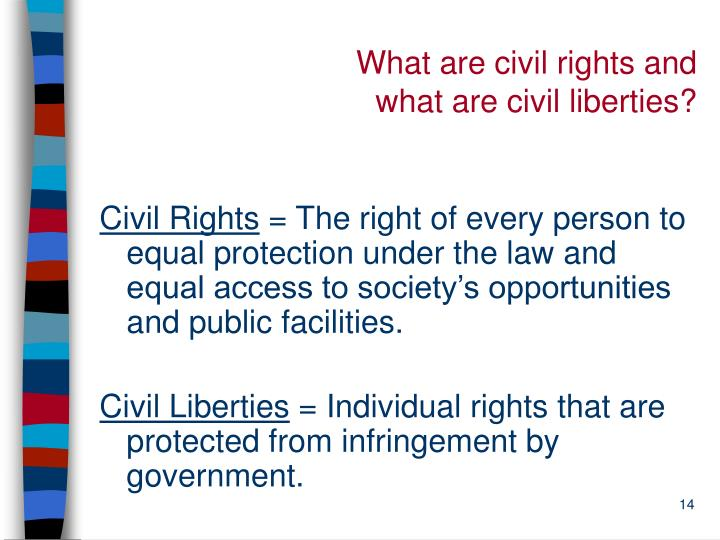 What are civil rights and