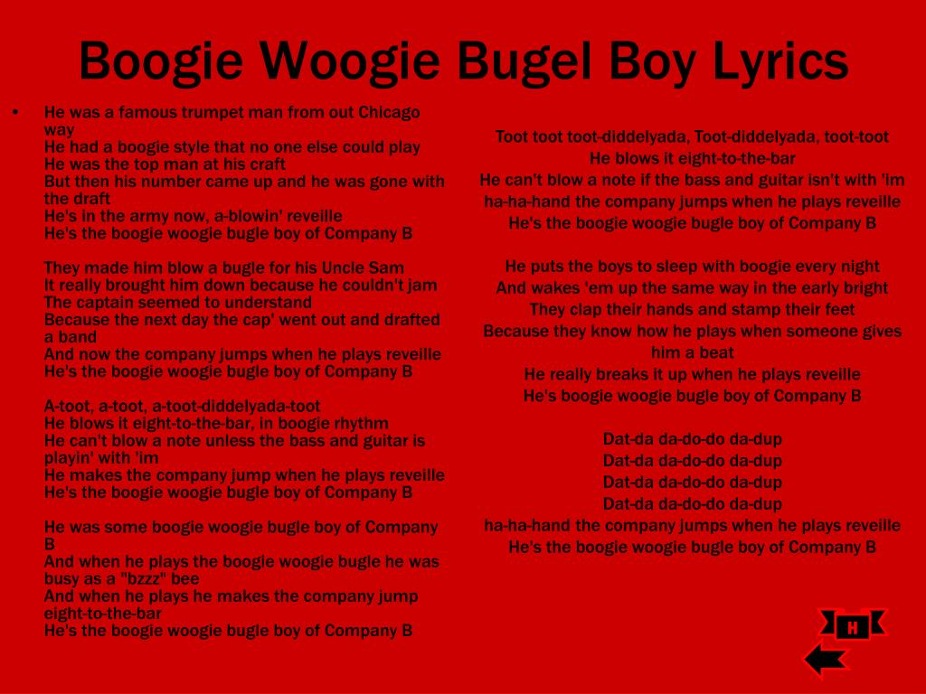 do the boogie woogie song free download