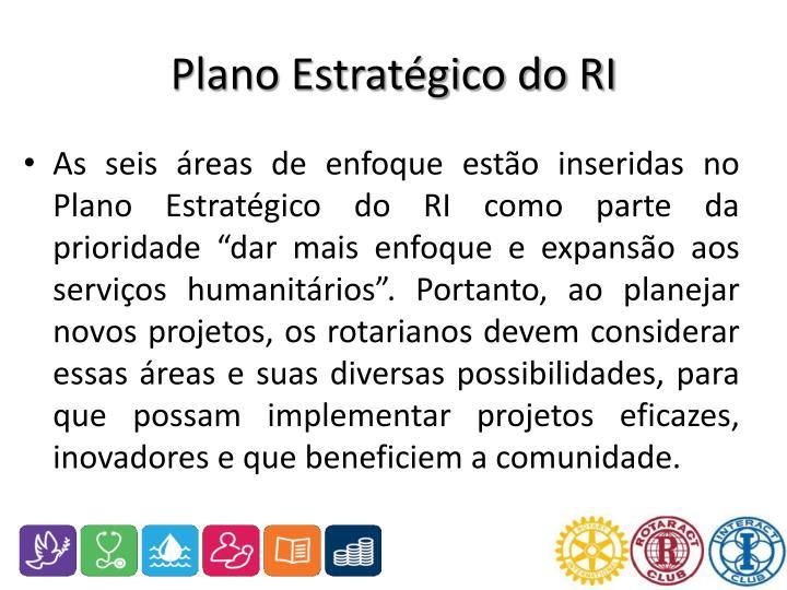 Plano Estratégico do RI