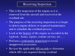 receiving inspection