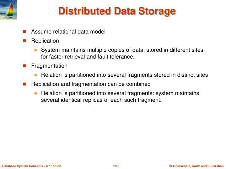 Assume relational data model
