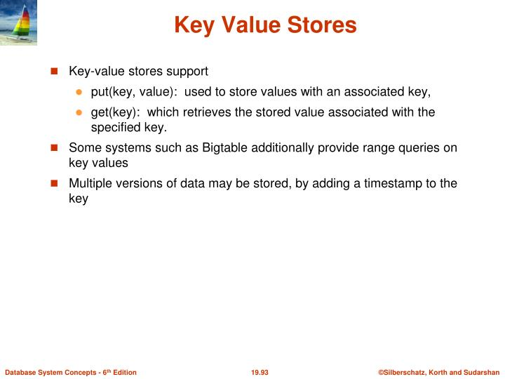 Key Value Stores