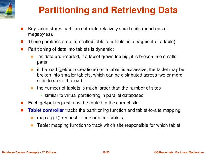 Partitioning and Retrieving Data