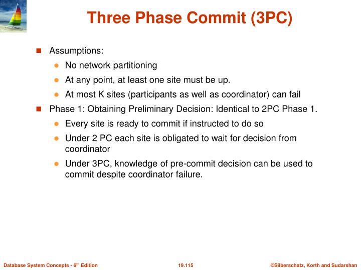 Three Phase Commit (3PC)